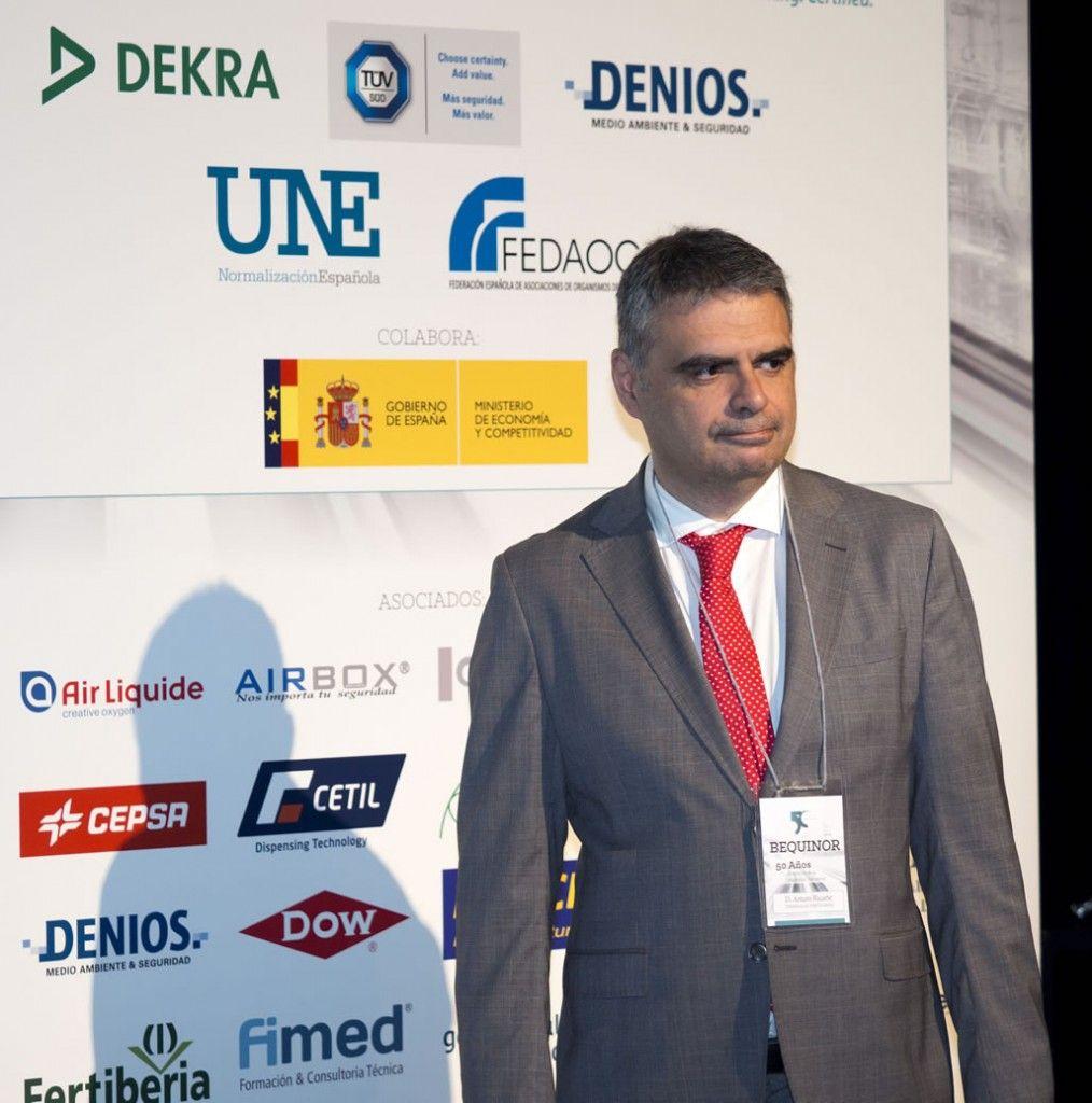 D. Arturo Ricarte, TEPSA