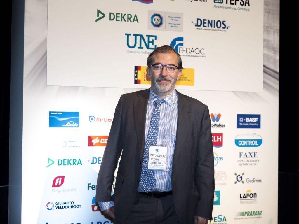 D. José Manuel Prieto, Subdirector General de Calidad y Seguridad Industrial, Ministerio de Economía, Industria y Competitividad