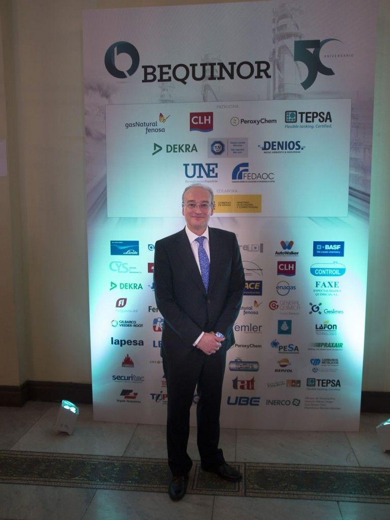 D. Avelino Brito, Director General de la Asociación Española de Normalización (UNE)
