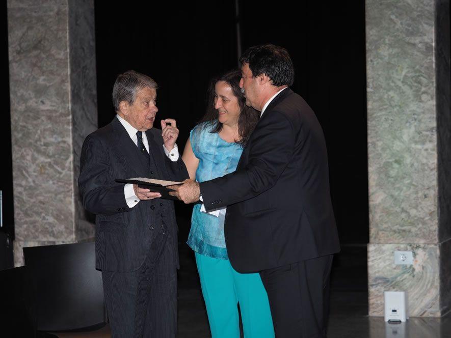 D. José María Storch de Gracia y Asensio, Presidente de Honor