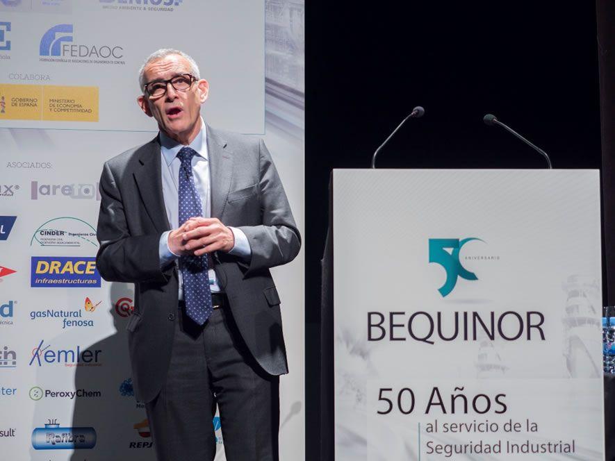 D. Antonio Gella Molleda, Director de Prevención, Seguridad, Salud, Medio Ambiente y Calidad del GRUPO GAS NATURAL FENOSA