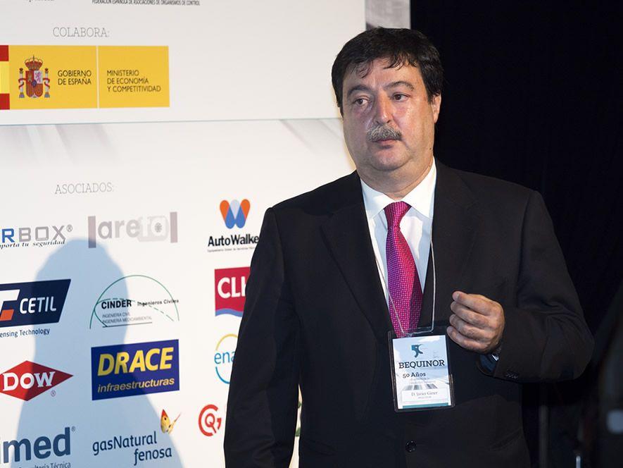 D. Javier Giner Jiménez, Presidente de BEQUINOR