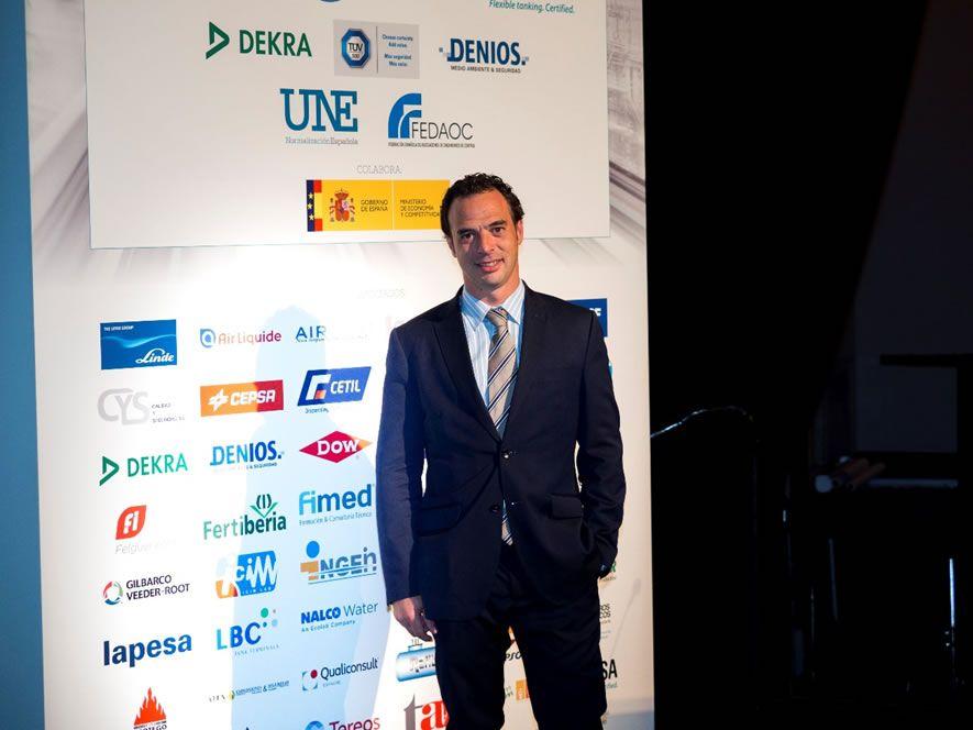 D. Jordi Campos, Director Unidad de Negocio Process Safety de TÜV SÜD en España y Portugal