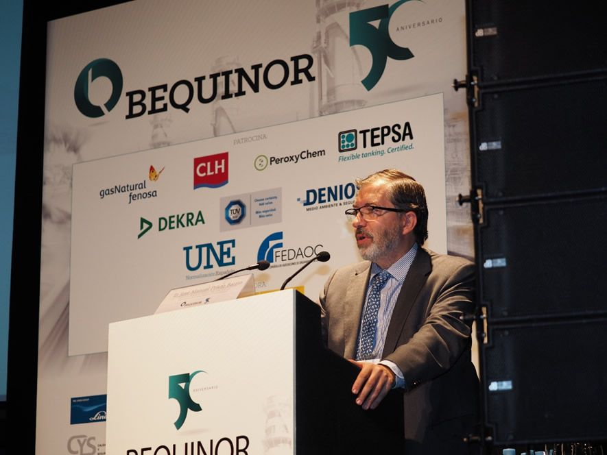 D. José Manuel Prieto Barrio, Subdirector General de Calidad y Seguridad Industrial, Ministerio de Economía, Industria y Competitividad