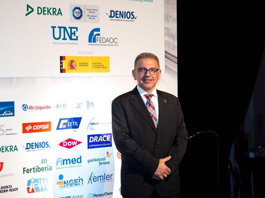 D. Marceliano Herrero Sinovas, Jefe del Servicio Territorial de Industria, Comercio y Turismo de Valladolid, Junta de Castilla y León.