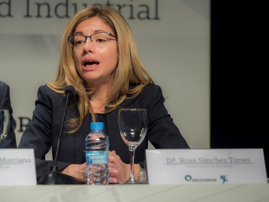 Dña. Rosa Sánchez Torres, Directora General de BEQUINOR