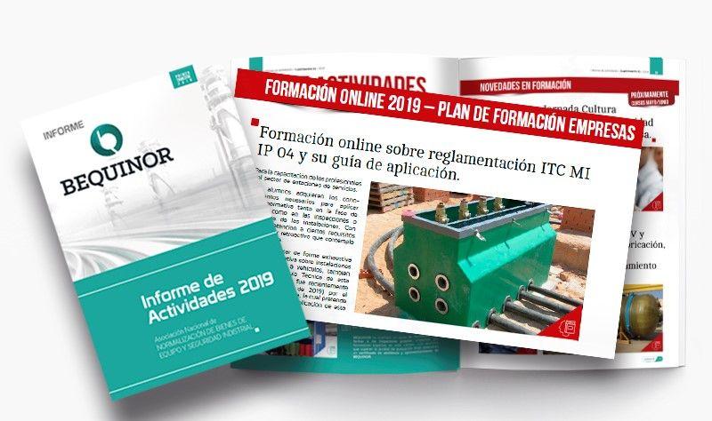BEQUINOR presenta su Informe de Actividades 2019.